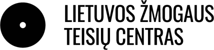 Logotipas - Lietuvos žmogaus teisių centras