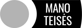 Logotipas - Manoteises.lt